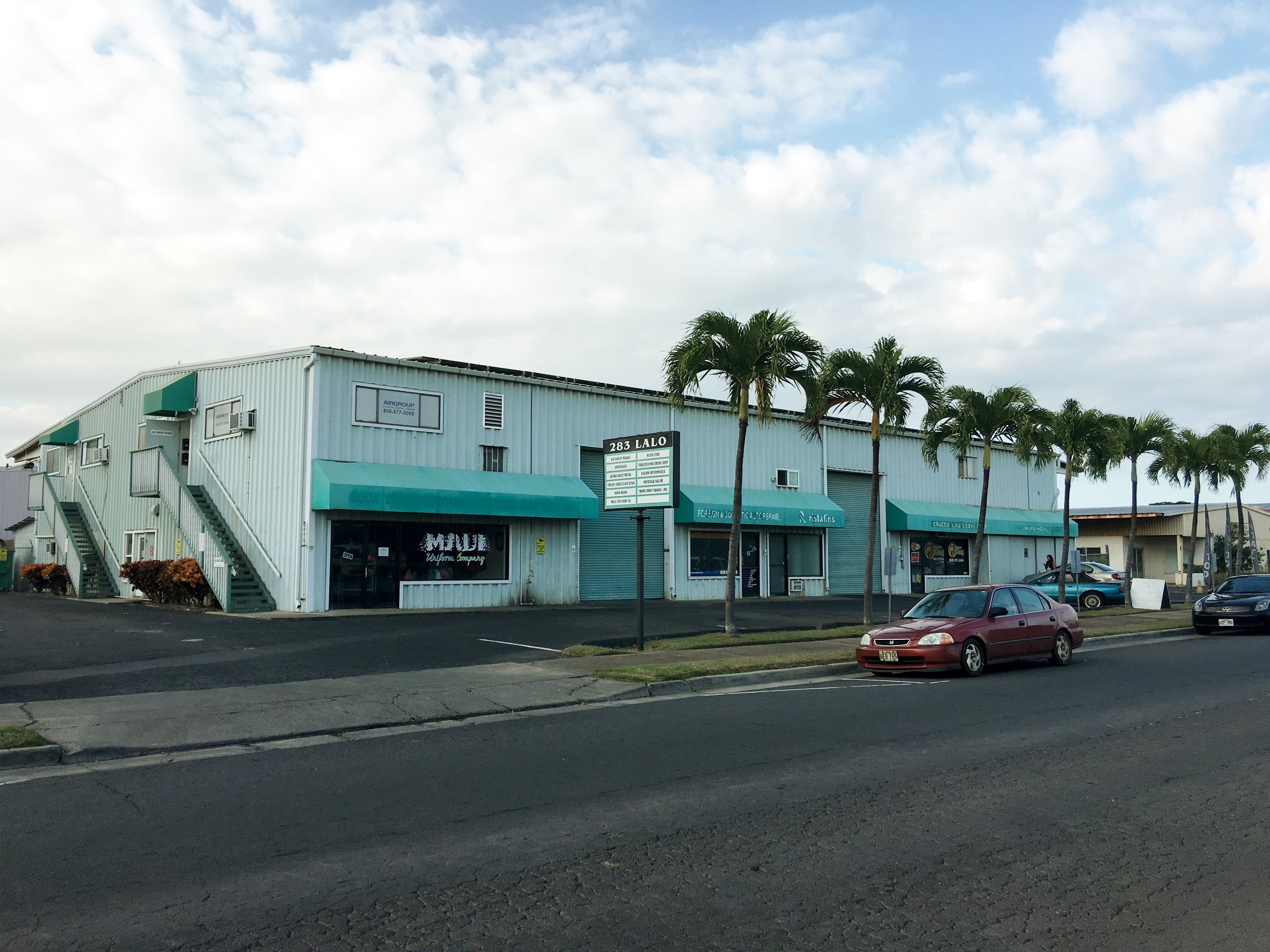 Kokua Realty Commercial Real Estate For Lease Central Office 283 Lalo Street Kahului Hawaii Keoni Fursse Investment Properties